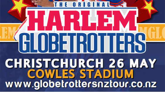 The Harlem Globetrotters - Score tickets to the Christchurch Show!